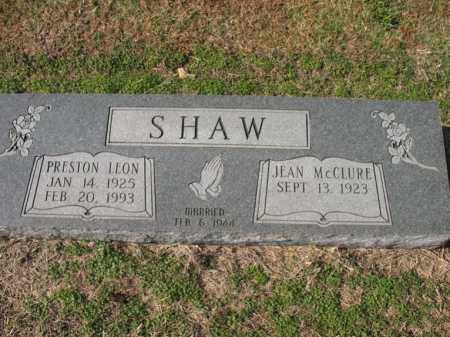 SHAW, PRESTON LEON - Cross County, Arkansas | PRESTON LEON SHAW - Arkansas Gravestone Photos