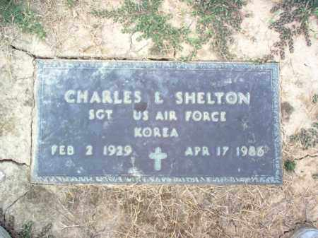 SHELTON (VETERAN KOR), CHARLES L - Cross County, Arkansas | CHARLES L SHELTON (VETERAN KOR) - Arkansas Gravestone Photos