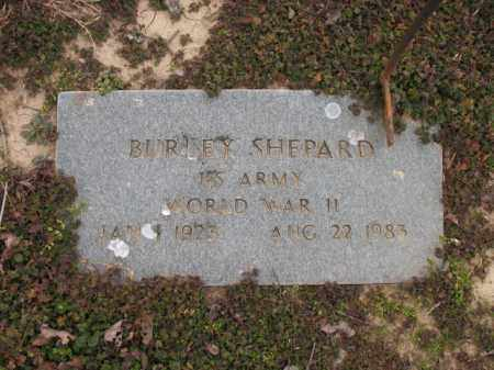 SHEPARD (VETERAN WWII), BURLEY - Cross County, Arkansas | BURLEY SHEPARD (VETERAN WWII) - Arkansas Gravestone Photos