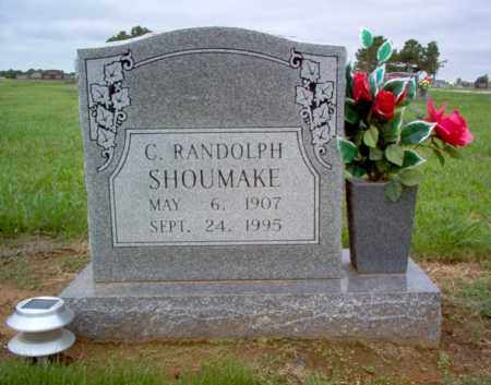 SHOUMAKE, C RANDOLPH - Cross County, Arkansas | C RANDOLPH SHOUMAKE - Arkansas Gravestone Photos