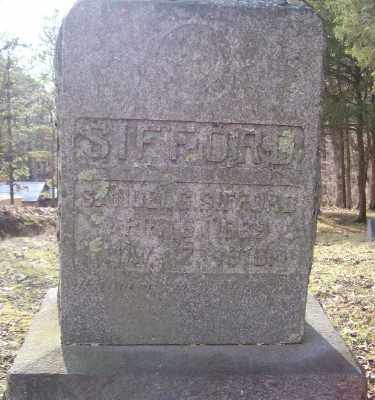 SIFFORD, SAMUEL G. - Cross County, Arkansas | SAMUEL G. SIFFORD - Arkansas Gravestone Photos