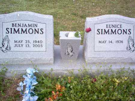 SIMMONS, BENJAMIN - Cross County, Arkansas | BENJAMIN SIMMONS - Arkansas Gravestone Photos