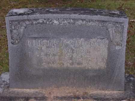 SIMMONS, ROBERT T - Cross County, Arkansas   ROBERT T SIMMONS - Arkansas Gravestone Photos