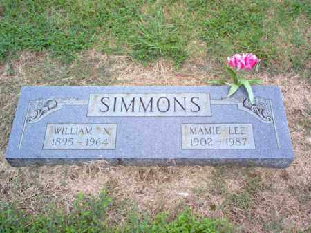 SIMMONS, WILLIAM N - Cross County, Arkansas | WILLIAM N SIMMONS - Arkansas Gravestone Photos