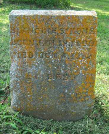 SIMONS, BLANCHIE - Cross County, Arkansas   BLANCHIE SIMONS - Arkansas Gravestone Photos
