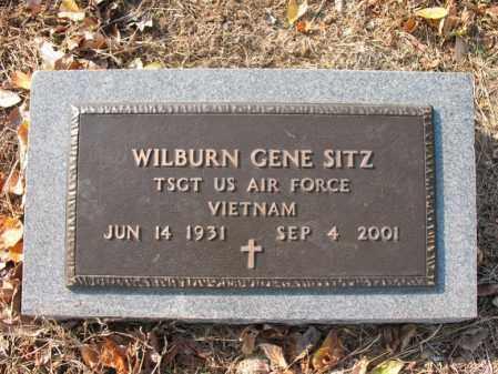 SITZ (VETERAN VIET), WILBURN GENE - Cross County, Arkansas   WILBURN GENE SITZ (VETERAN VIET) - Arkansas Gravestone Photos