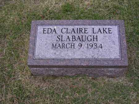SLABAUGH, EDA CLAIRE - Cross County, Arkansas | EDA CLAIRE SLABAUGH - Arkansas Gravestone Photos