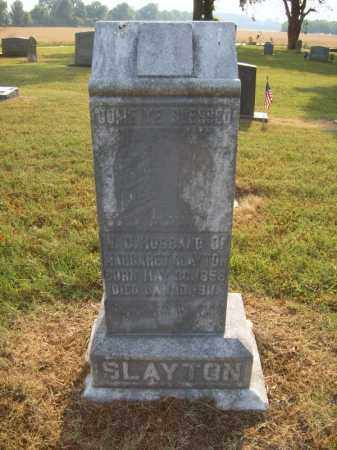 SLAYTON, W C - Cross County, Arkansas | W C SLAYTON - Arkansas Gravestone Photos