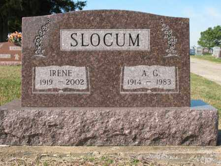 SLOCUM, IRENE - Cross County, Arkansas | IRENE SLOCUM - Arkansas Gravestone Photos