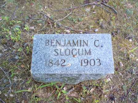 SLOCUM, BENJAMIN C - Cross County, Arkansas | BENJAMIN C SLOCUM - Arkansas Gravestone Photos