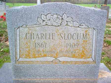 SLOCUM, CHARLIE - Cross County, Arkansas | CHARLIE SLOCUM - Arkansas Gravestone Photos