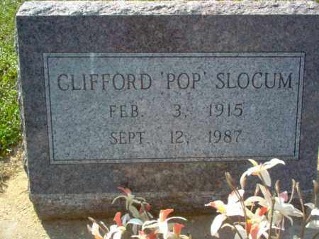 "SLOCUM, CLIFFORD ""POP"" - Cross County, Arkansas 
