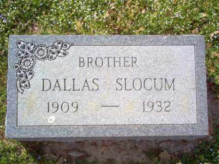 SLOCUM, DALLAS - Cross County, Arkansas | DALLAS SLOCUM - Arkansas Gravestone Photos