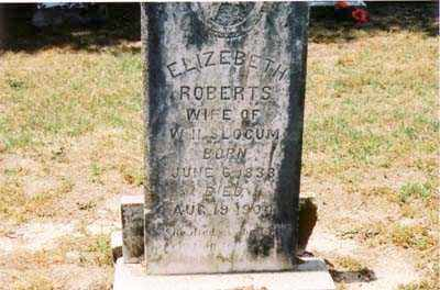 ROBERTS SLOCUM, ELIZABETH - Cross County, Arkansas | ELIZABETH ROBERTS SLOCUM - Arkansas Gravestone Photos