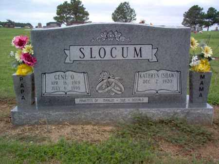 SLOCUM, EUGENE O - Cross County, Arkansas | EUGENE O SLOCUM - Arkansas Gravestone Photos