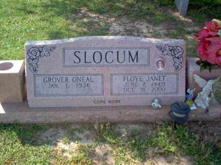 SLOCUM, FLOYE JANET - Cross County, Arkansas | FLOYE JANET SLOCUM - Arkansas Gravestone Photos