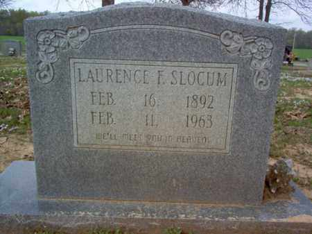 SLOCUM, LAURENCE F - Cross County, Arkansas | LAURENCE F SLOCUM - Arkansas Gravestone Photos