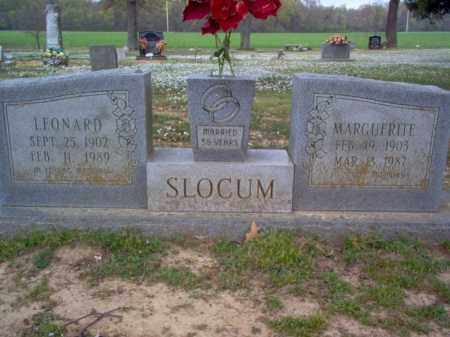 SLOCUM, LEONARD - Cross County, Arkansas | LEONARD SLOCUM - Arkansas Gravestone Photos