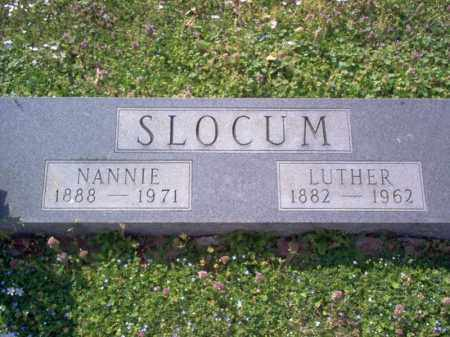 SLOCUM, LUTHER - Cross County, Arkansas | LUTHER SLOCUM - Arkansas Gravestone Photos