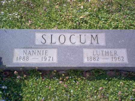SLOCUM, NANNIE - Cross County, Arkansas   NANNIE SLOCUM - Arkansas Gravestone Photos