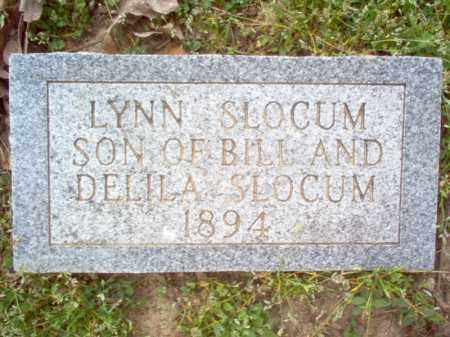 SLOCUM, LYNN - Cross County, Arkansas | LYNN SLOCUM - Arkansas Gravestone Photos
