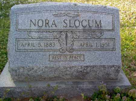 SLOCUM, NORA - Cross County, Arkansas | NORA SLOCUM - Arkansas Gravestone Photos