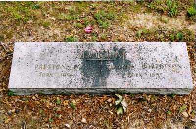 SLOCUM, MARTHA - Cross County, Arkansas | MARTHA SLOCUM - Arkansas Gravestone Photos