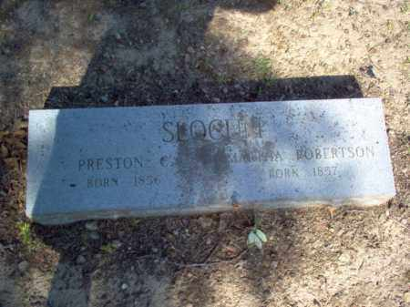 ROBERTSON SLOCUM, MARTHA - Cross County, Arkansas | MARTHA ROBERTSON SLOCUM - Arkansas Gravestone Photos