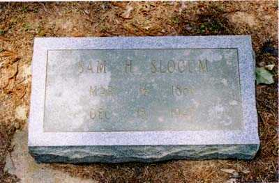 SLOCUM, SAM H. - Cross County, Arkansas | SAM H. SLOCUM - Arkansas Gravestone Photos