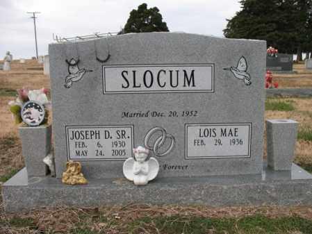 SLOCUM, SR., JOSEPH D - Cross County, Arkansas | JOSEPH D SLOCUM, SR. - Arkansas Gravestone Photos