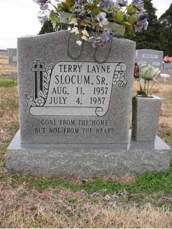 SLOCUM, SR., TERRY LAYNE - Cross County, Arkansas   TERRY LAYNE SLOCUM, SR. - Arkansas Gravestone Photos