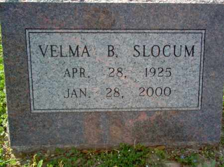 SLOCUM, VELMA B - Cross County, Arkansas | VELMA B SLOCUM - Arkansas Gravestone Photos
