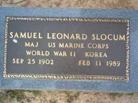 SLOCUM (VETERAN 2 WARS), SAMUEL LEONARD - Cross County, Arkansas | SAMUEL LEONARD SLOCUM (VETERAN 2 WARS) - Arkansas Gravestone Photos