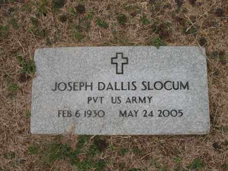 SLOCUM (VETERAN), JOSEPH DALLIS - Cross County, Arkansas | JOSEPH DALLIS SLOCUM (VETERAN) - Arkansas Gravestone Photos