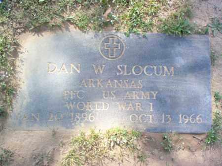 SLOCUM (VETERAN WWI), DAN W - Cross County, Arkansas | DAN W SLOCUM (VETERAN WWI) - Arkansas Gravestone Photos
