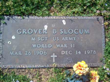 SLOCUM (VETERAN WWII), GROVER B - Cross County, Arkansas | GROVER B SLOCUM (VETERAN WWII) - Arkansas Gravestone Photos