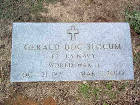 SLOCUM (VETERAN WWII), GERALD DOC - Cross County, Arkansas | GERALD DOC SLOCUM (VETERAN WWII) - Arkansas Gravestone Photos