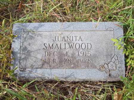SMALLWOOD, JUANITA - Cross County, Arkansas | JUANITA SMALLWOOD - Arkansas Gravestone Photos