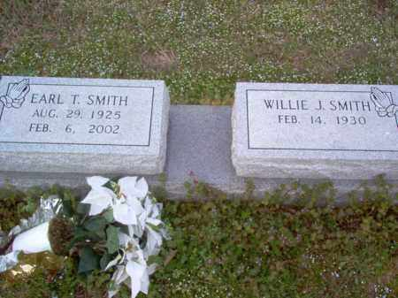 SMITH, EARL T - Cross County, Arkansas | EARL T SMITH - Arkansas Gravestone Photos