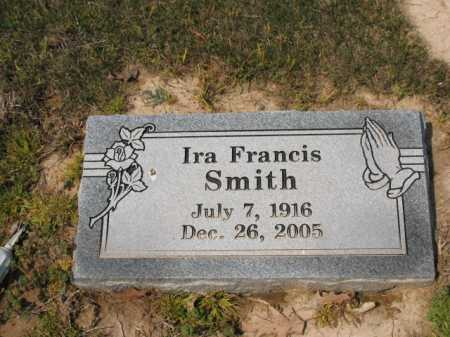 SMITH, IRA FRANCIS - Cross County, Arkansas | IRA FRANCIS SMITH - Arkansas Gravestone Photos