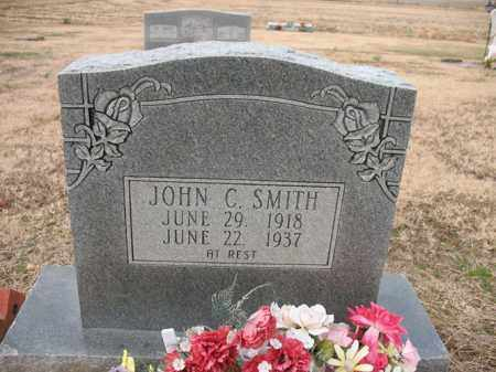 SMITH, JOHN C - Cross County, Arkansas | JOHN C SMITH - Arkansas Gravestone Photos