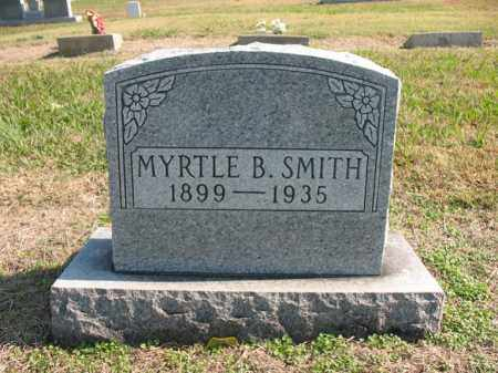 SMITH, MYRTLE B - Cross County, Arkansas | MYRTLE B SMITH - Arkansas Gravestone Photos