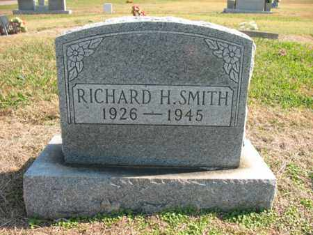 SMITH, RICHARD H - Cross County, Arkansas | RICHARD H SMITH - Arkansas Gravestone Photos
