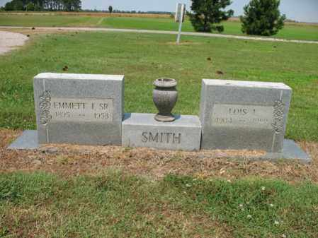 SMITH, SR., EMMETT IVORY - Cross County, Arkansas | EMMETT IVORY SMITH, SR. - Arkansas Gravestone Photos