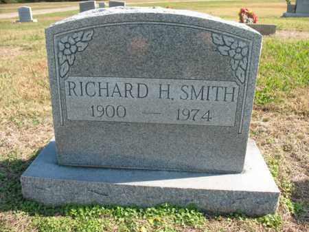 SMITH, SR., RICHARD H - Cross County, Arkansas | RICHARD H SMITH, SR. - Arkansas Gravestone Photos