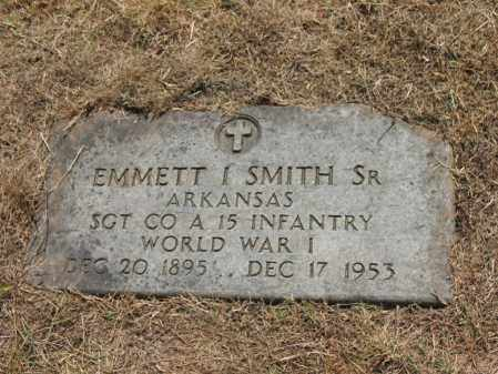 SMITH, SR (VETERAN WWI), EMMETT IVORY - Cross County, Arkansas | EMMETT IVORY SMITH, SR (VETERAN WWI) - Arkansas Gravestone Photos