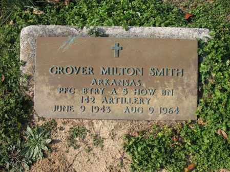 SMITH (VETERAN), GROVER MILTON - Cross County, Arkansas | GROVER MILTON SMITH (VETERAN) - Arkansas Gravestone Photos