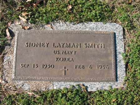 SMITH, SR (VETERAN KOR), SIDNEY LAYMAN - Cross County, Arkansas | SIDNEY LAYMAN SMITH, SR (VETERAN KOR) - Arkansas Gravestone Photos
