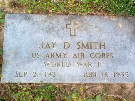 SMITH (VETERAN WWII), JAY DEE - Cross County, Arkansas | JAY DEE SMITH (VETERAN WWII) - Arkansas Gravestone Photos