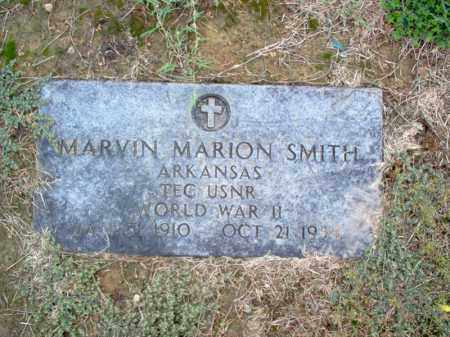 SMITH (VETERAN WWII), MARVIN MARION - Cross County, Arkansas | MARVIN MARION SMITH (VETERAN WWII) - Arkansas Gravestone Photos